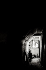(philippe baumgart) Tags: urbex alsace elsass valléedemunster turckheim blackandwhite noiretblanc bw creepy light window