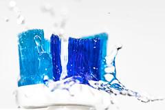 Same procedure as yesterday (imagejon) Tags: readyfortheday macromondays toothbrush water