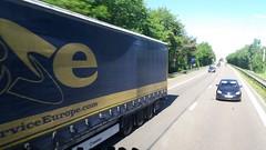 Krone Mega Liner 3-Axled - ESE Cargo Service Europe BV Oss, Nederland (Celik Pictures) Tags: spotted e314 belgië nederland autobahn snelweg autosnelweg highway freeway transport in action going to gaiazoo kerkrade beringen cse cargo service europe bv oss