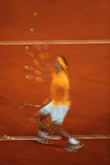 El Malabarista (chuscordeiro) Tags: tenis atp madrid masters1000 nadal rafa vamosrafa tierrabatida exposiciónmultiple canon1dxmarkii canon500f4 españa deporte color accion cajamagica