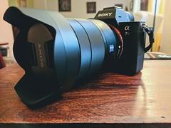 Birthday gift to myself. Sony a7R III with Zeiss 24-70mm f4 (grandpakato) Tags: sony a7r iii a7riii alpha mirrorless ilce7m3 424mp 424 a7 google pixel xl lens hood digital camera boston grandpakato cato ikato kato mark3 mark 3 self