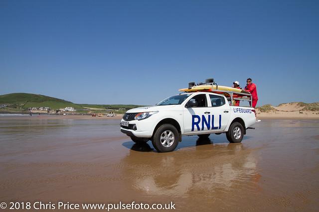 Lifeguards at Croyde