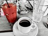"""""""I am my world."""" ―Ludwig Wittgenstein 🍹 (anokarina) Tags: psmobile adobephotoshopexpress colorsplash android 🍸 🍹 ☕️ 🍅 haymarket chicago illinois il brunch drinks bloodymary drink mixed alcohol water red pink"""