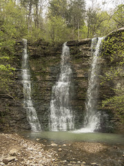 RED03036 (David J. Thomas) Tags: caves caving hiking speleology class students twinfalls camporr jasper waterfall creek stream karst arkansas lyoncollege