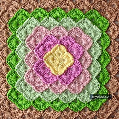 Box stitch - pattern free 3