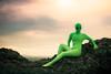 Take Me to Your Leader (Thomas Hawk) Tags: alien america cratersofthemoon cratersofthemoonnationalmonumentpreserve idaho katewesterhout nationalpark techondeck techondeck2015 usa unitedstates unitedstatesofamerica fav10 fav25