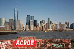 Jersey City (Zawodowy Fotograf) Tags: jerseycity hudsoncounty newjersey canon canon5dmarkiii sigma 50mm 14 art street photography landscape manhattan new york cityu