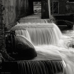 Falkensten (Geir Bakken) Tags: blackandwhite bw waterfall water ilford ilforddelta ilforddelta400 mamiya rb67 180mm perfectbeauty film analog norway horten vestfold