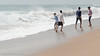 Seaside-1.jpg (Karl Becker Photography) Tags: india odisha gopalpur nikon seaside ocean boy youngman man male shirtless speedo sports swimming