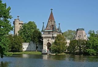 Die Franzensburg im Schlosspark Laxenburg (Detail)