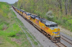 up8989 (Fan-T) Tags: ohio up 8989 sd70ace csx ravenna union pacific