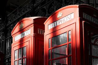 Smithfield phone boxes