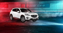 CX-5 at night (smirnovvalera) Tags: car mazda for night city lights flashlight strobe smirnovvalera workshop commercial cx5 flares