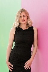 Summer Color (Daniel Medley) Tags: beautiful woman blonde portrait sexy dress nikon d750 85mm18g