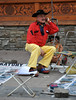 street artist - the creator of caricatures (rafasmm) Tags: nikon d90 nikkor 18105 afs polska poland zakopane street streetphoto streetlife streetportrait streetphotography color outdoor artist creator caricatures poeple interesting