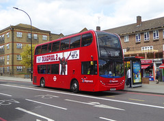 SLN 10132 - LX12DFG - A2 NEW CROSS ROAD - FRI 11TH MAY 2018 (Bexleybus) Tags: stagecoach london a2 new cross road adl dennis enviro 400 tfl route 136 10132 lx12dfg