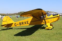 G-BRXE (GH@BHD) Tags: gbrxe taylorcraft bc12d taylorcraftbc12d pophammicrolighttradefair2018 pophamairfield popham aircraft aviation