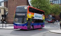 4879 National Express West Midlands (KLTP17) Tags: 4879 nationalexpress westmidlands adl enviro400 bx61lnz pride 2018 birmingham bus nxwm 45 longbridge