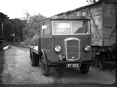 Mr R Buckle Coal & Coke Merchant - Dennis Ace Flatbed Trruck from 1931. 03 07 2011 (pnb511) Tags: midsuffolklightrailway themiddy track train heritage historic historical brockford station wetheringsett stowmarket suffolk dennis truck lorry flatbed yard trucks trains rt2931