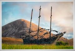 National Famine Monument (mickreynolds) Tags: comayo croaghpatrick faminememorial ireland murrisk nx500 westport may2018 monument irish bronze sculpture reek