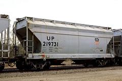 UP Class CH-100-43 219731 (Chuck Zeiler) Tags: up class ch10043 219731 railroad covered hopper freight car cotter train chuckzeiler chz