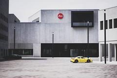 Leica Leitz Park (Christian Passi - Steher82) Tags: wet leica leitz gelb porsche germany gebäude auto architektur photography photo store museum wetzlar deutschland architecture sonya6000 a6000 hessen kontrast