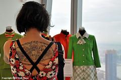Styles Old And New (Trish Mayo) Tags: uniforms flightattendants twalounge tattoo dalton 1960s skulls skeletons