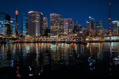 Darling Harbour City Lights (namhdyk) Tags: australia sydney travel canon canonpowershot canonpowershotg7x