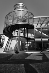 extension musée d'histoire de Berlin (fred9210) Tags: berlin verre metal design musée monochrom contrast