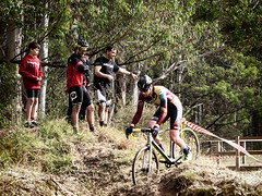 wsmtb cx r1 (AlistairKiwi) Tags: wsmtb cx round race cyclocross olympus omd sydney nsw australia bicycle bike sport 1 sun valley blue mountains
