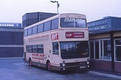 SYT 1950 Sheffield (Guy Arab UF) Tags: south yorkshire transport 1950 c950hwf mcw metrobus mk2 sheffield pond street bus station buses