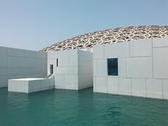 museum (rick.onorato) Tags: abu dhabi united arab emirates uae arabian desert louvre museum water architecture