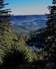 Blick über den Nordschwarzwald bei Schönmünzach (MHikeBike) Tags: wald berge see wasser bäume urwald nationalpark schwarzwald nordschwarzwald murg murgtal baiersbronn huzenbach schönmünzach wandern wege ruhe stille einsamkeit