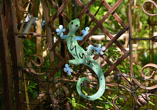 A Lizard at the Gate
