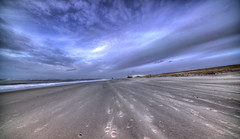 Footsteps. (Alex-de-Haas) Tags: 11mm adobe d850 dutch hdr holland irix lightroom nederland nederlands netherlands nikon noordholland noordzee northsea petten pettenaanzee photomatix photomatixpro beach beachscape exposure hemel landscape landschap longexposure lucht sand sea skies sky strand sundown sunset wind winter zand zee zonsondergang