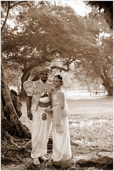 """ever thine, ever mine, ever ours"" (Ramalakshmi Rajan) Tags: nikon nikond5000 nikkor18140mm srilanka people potraits portrait quotes sepia blackandwhite blackwhite outdoor travel traditional tradition"
