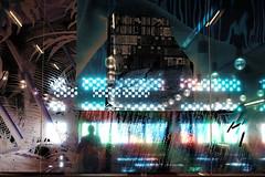 Modern Man (AndMakeItSnappy) Tags: tatemodern blavatnikbuilding restaurant london blue window southbank abstract artgallery arty classicchrome fujifilmxt1 fujifilm 35mm 14