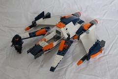 G-1_Patrol_Craft (TH3_J03Y_G) Tags: lego classic space g1 galaxy patrol craft spaceship starfighter squad swarm interceptor 70701 custom moc minifigure scifi