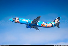 [SEA.2009] #Alaska.Airlines #AS #Boeing #B734 #N784AS #Disneyland #awp (CHR / AeroWorldpictures Team) Tags: airlines boeing 737 b737 b737400 4q8 cfmi cfm56 n784as disneyland mickey pluto deisy donald aircrafts airplane plane planes renton krnt wa usa as asa ilfc tailwindairlines ti twi tctld captmakgun special livery color alaska american airways airliner planespotting seattle sea ksea seatac airport 2009 chr aeroworldpictures awp nikon d80 raw nikkor 70300vr lightroom