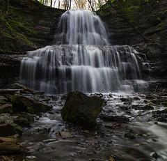 Sherman Falls, Hamilton (Faron Dillon) Tags: water waterfalls hamilton ontario slowshutter smooth canon 24105is 5ds longexposure