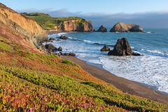 Rodeo Beach (Matt McLean) Tags: bayarea beach california coast ocean pacific rodeobeach sanfrancisco tide