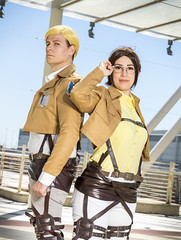 _MG_7185 (Mauro Petrolati) Tags: attack titan shingeki no kyojin romics 2018 cosplay cosplayer beatrice hanji zoe gabriele erwin