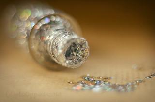 little bit of sparkle...