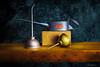 Three's a Crowd. (darklogan1) Tags: industrial photography oil canon 5d grunge cans wood lightpainting light sculpting logan darklogan1 longexposure stilllife canoneos5dmarkiii canon2470mmf28l oilers