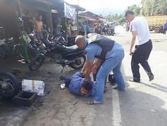 Viral di Medsos, Pria yang Diduga Teroris Diamankan Polisi di Sijunjung (covesiacom) Tags: berita foto covesia