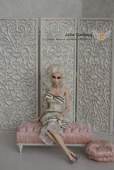 "Set ""Platinum"" 1: 4 (JuliaGart) Tags: furniture for dolls sybarite kd kingdom kingdomdoll numina screen scale 14 fashion banquette julia gartung fs avalon superfrock orb"