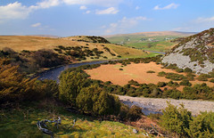 Meandering Tees (PJ Swan) Tags: river tees teesdale england water watercourse valley meander