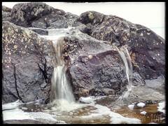 Miniatyre Waterfall (PeepeT) Tags: vesiputous waterfall kallio rock kauppi kevät spring vesi water tampere