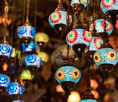 Mosaic Lanterns (Packing-Light) Tags: asia singapore travel city citystate diversity trade kampongglam malay color lights lanterns turkish mosaic illuminated sg