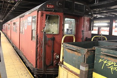 IMG_6920 (GojiMet86) Tags: mta ind irt nyc new york city subway train 1963 r33wf 9345 19345 42nd street bryant park